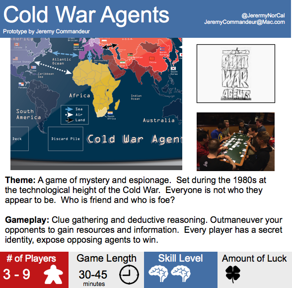 Cold War Agents (Now Booze Barons)