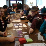 Photos from the Unpub Mini at 7th Dimension Games, February 2014