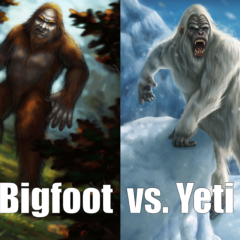 Unpub Preview: Bigfoot vs. Yeti